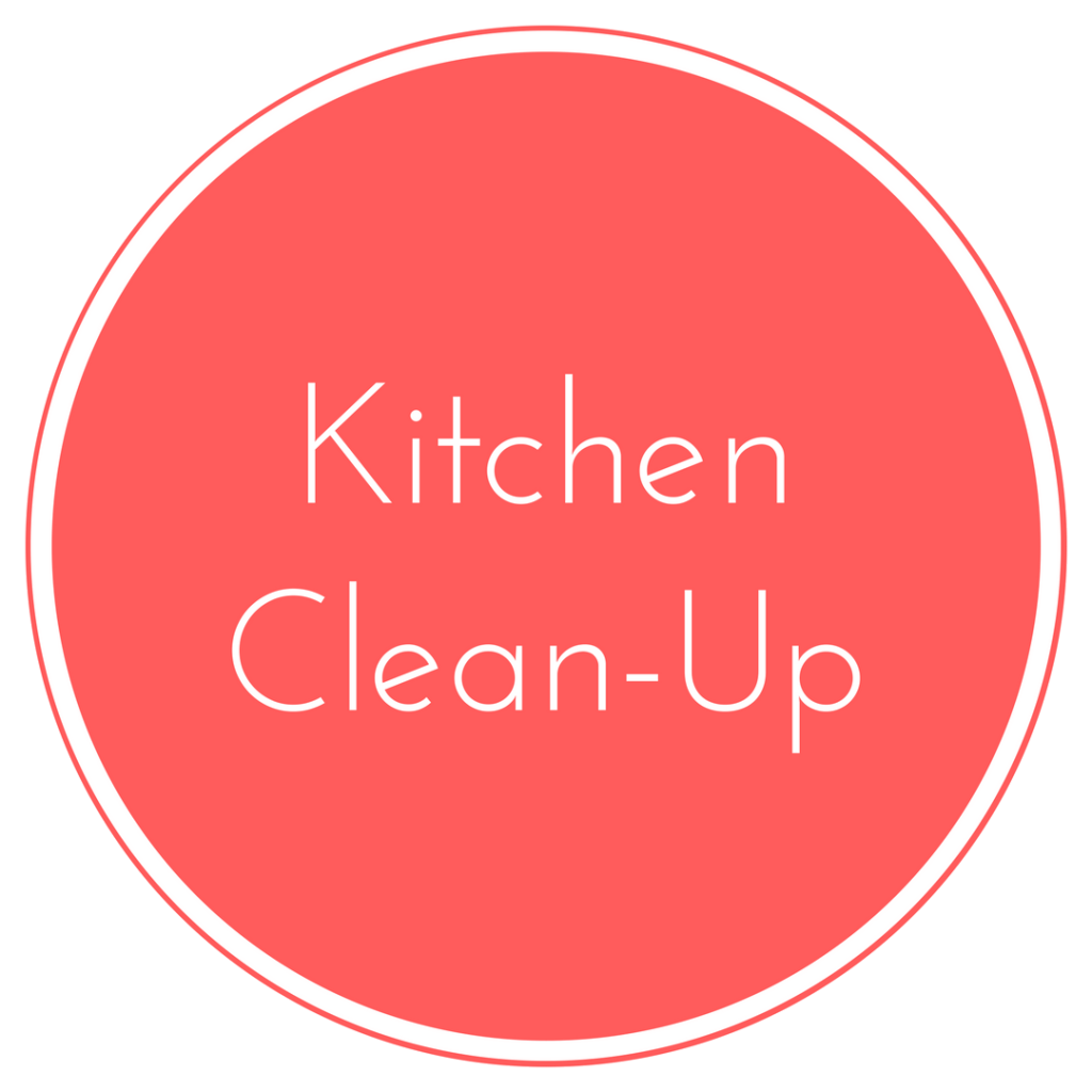 Kitchen Cleaning: Family Style Nutrition